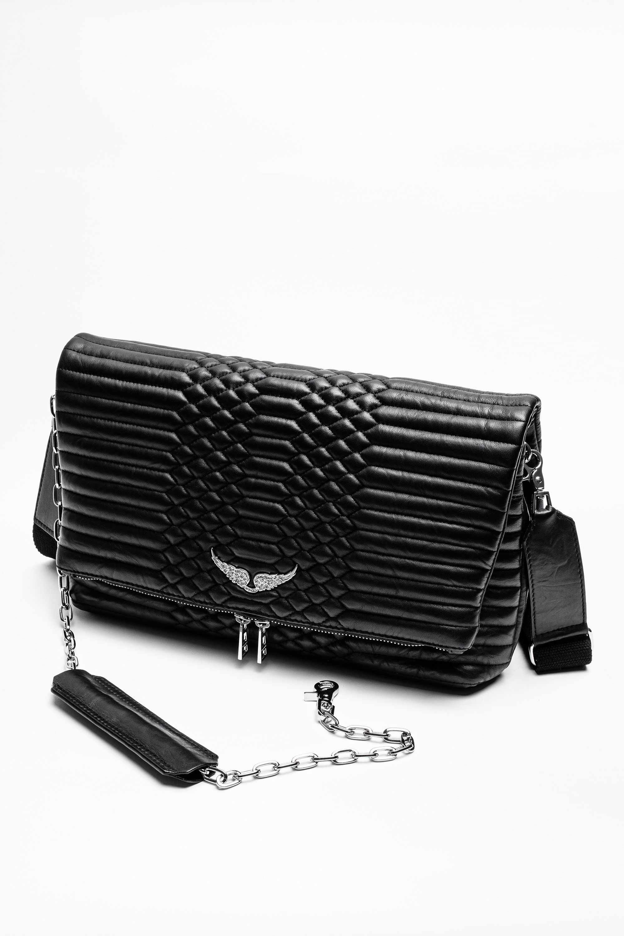 Zadig Voltaire Rocky Xl Matelasse Bag Zadig And Voltaire Bags Fashion Handbags