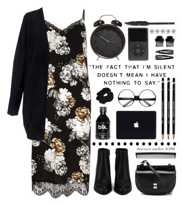 """Nothing to say."" by sabreerae ❤ liked on Polyvore featuring River Island, C/MEO COLLECTIVE, T3, Forever 21, Alexander Wang, Chloé and ZeroUV"