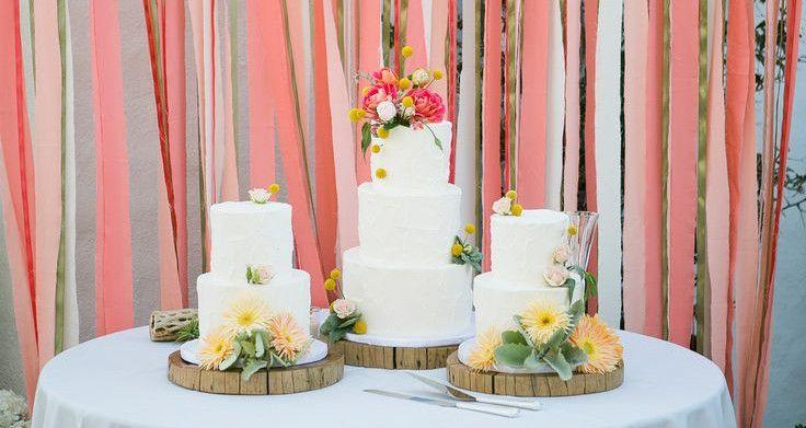 Wedding decoration DIY cake table