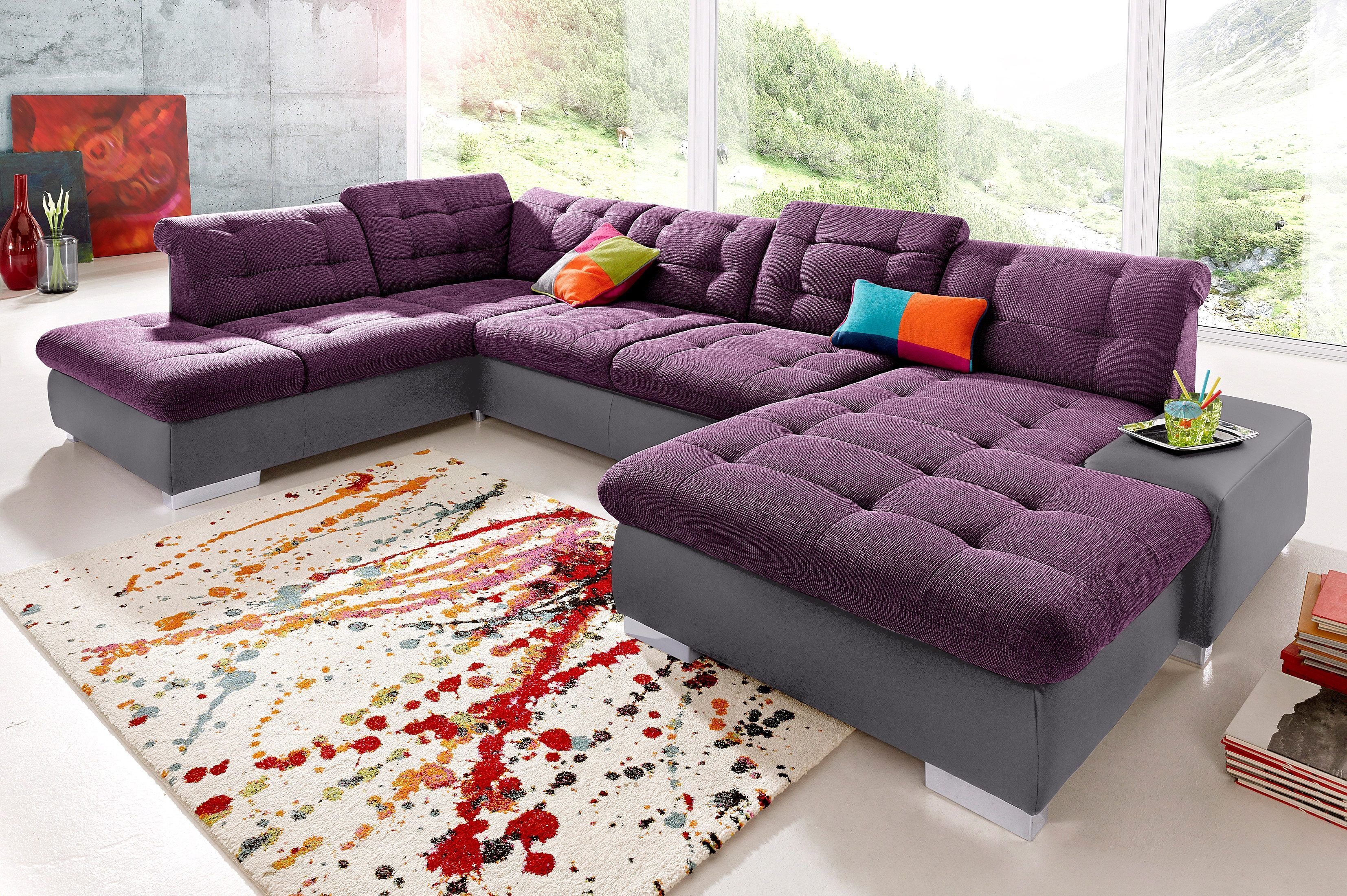 Sit&more Wohnlandschaft Mit Bettfunktion Pin By Ladendirekt On Sofas Couches Sofa L Shaped Couch