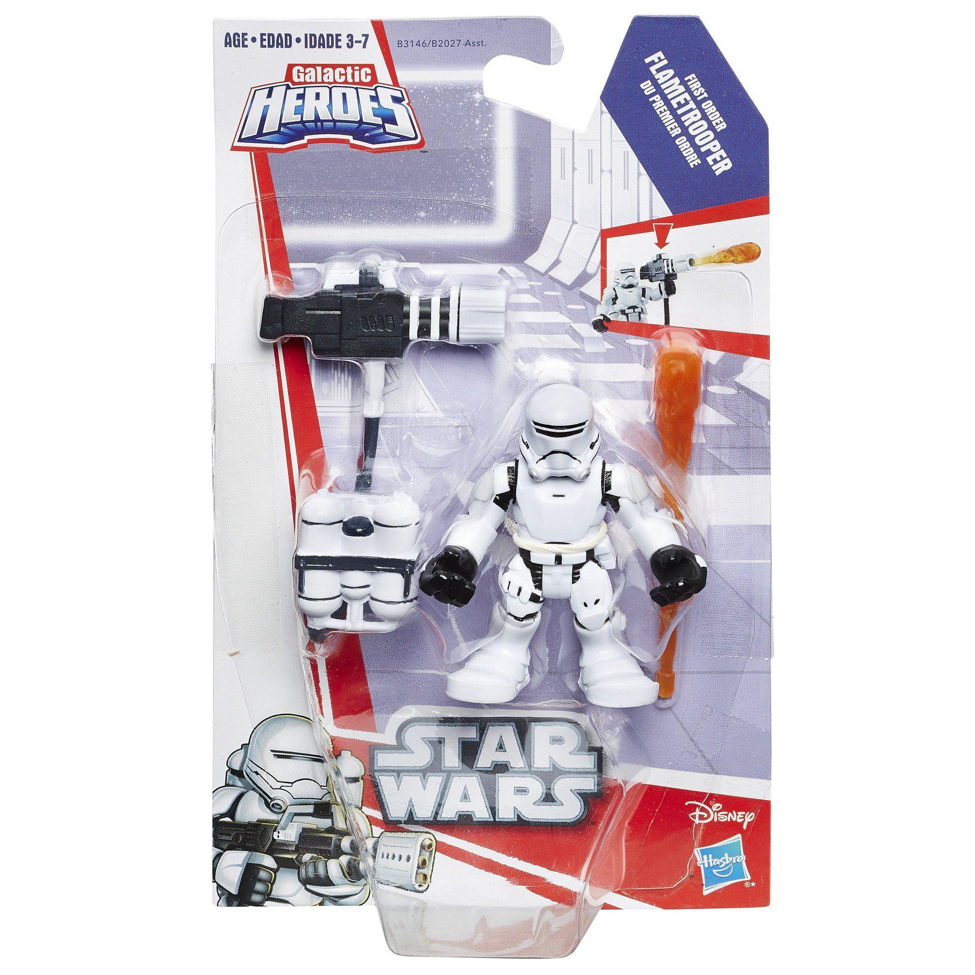 Star Wars Playskool Galactic Heroes First Order FLAMETROOPER New
