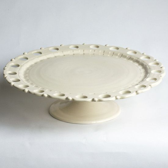 Industrial Inspired Galvanized Metal Scalloped Wire Cake Stand ITGAM Products CTW-460013