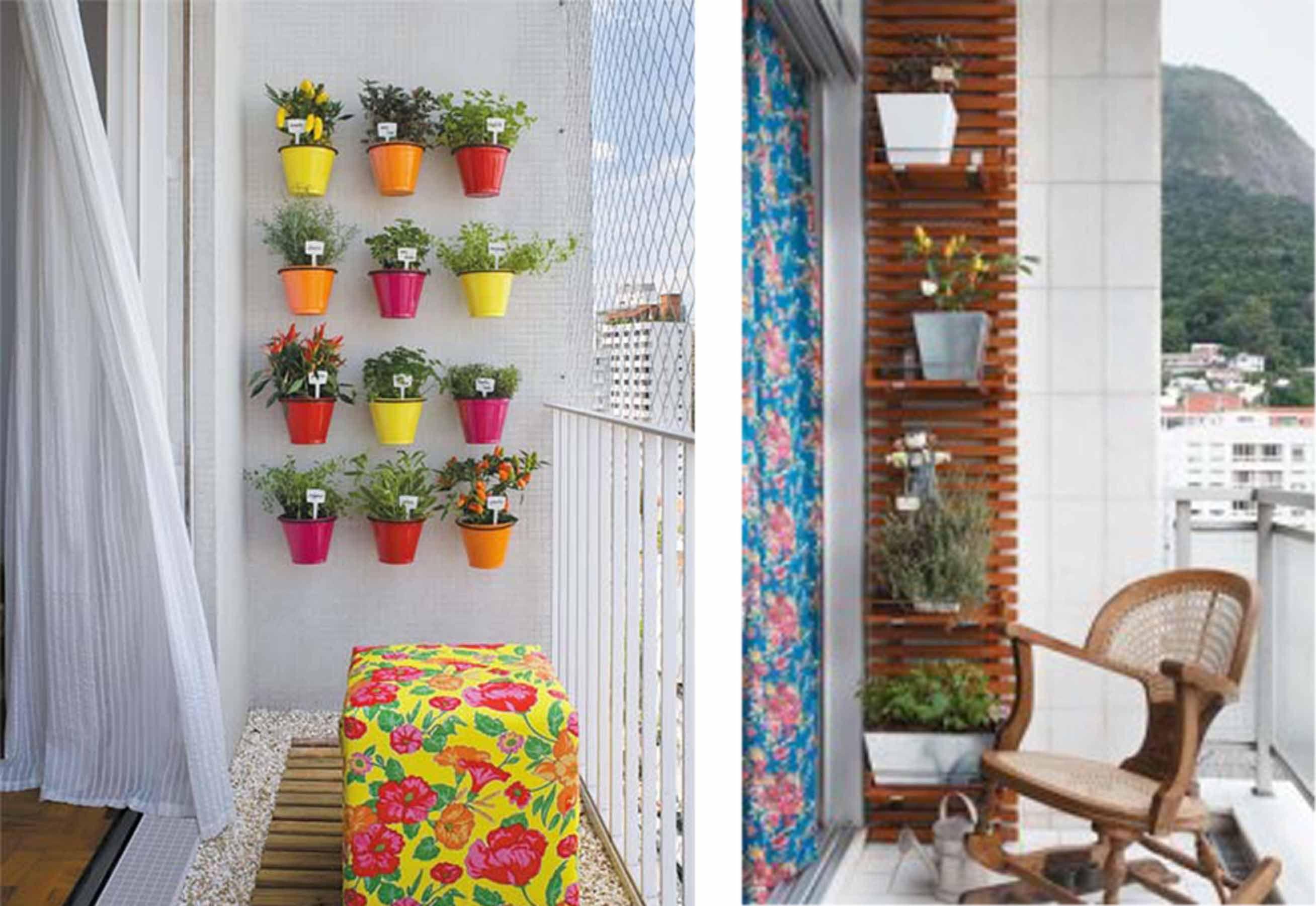 Apartamento Sustentavel Horta Vertical Ecoatitude Porto Freire  ~ Horta De Temperos Na Cozinha