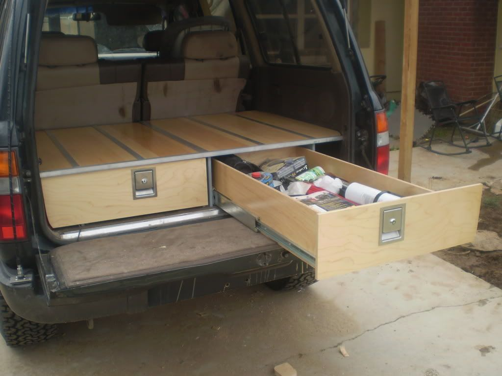 Post Up Your Drawer Storage System Archive Expedition Portal Truck Bed Storage Suv Storage Truck Bed