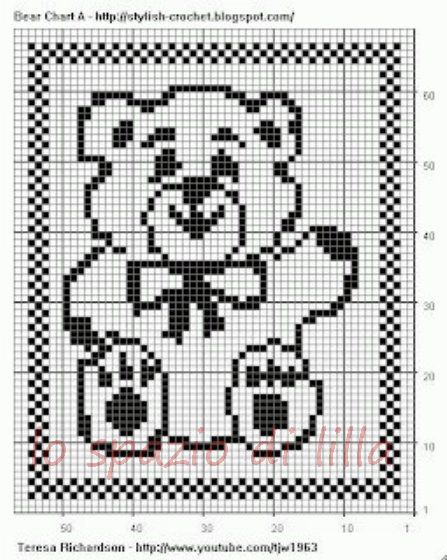 the lilac space: diagrams of teddy bears to filet for covers Infant ...