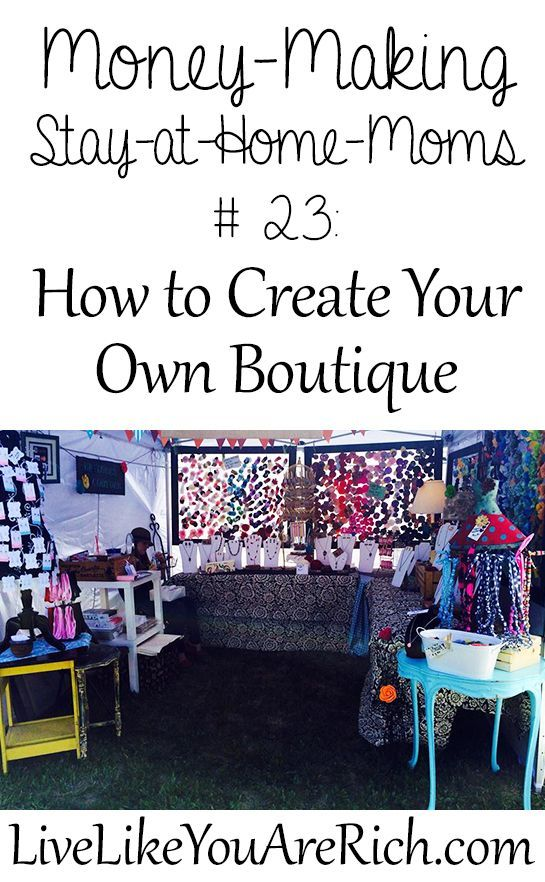 How To Start Your Own Boutique Boutique Business And Online Business - Create your own invoice template online thrift store furniture