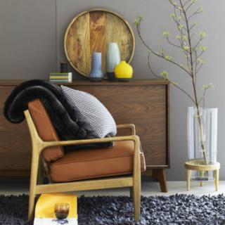 Classe, vraiment  année 60 déco fauteuil, vase, tapis...