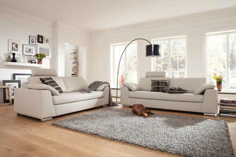 weiße couch von musterring * helle wohnzimmereinrichtung * ideen ... - Wohnzimmer Couch