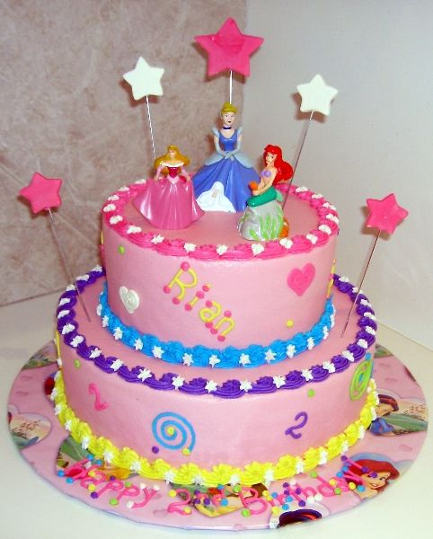 Снежана Ариел и Пепелашка Disney Princess Birthday