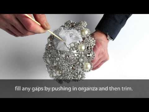aa7777edaa01 How to make a Brooch Bouquet - YouTube