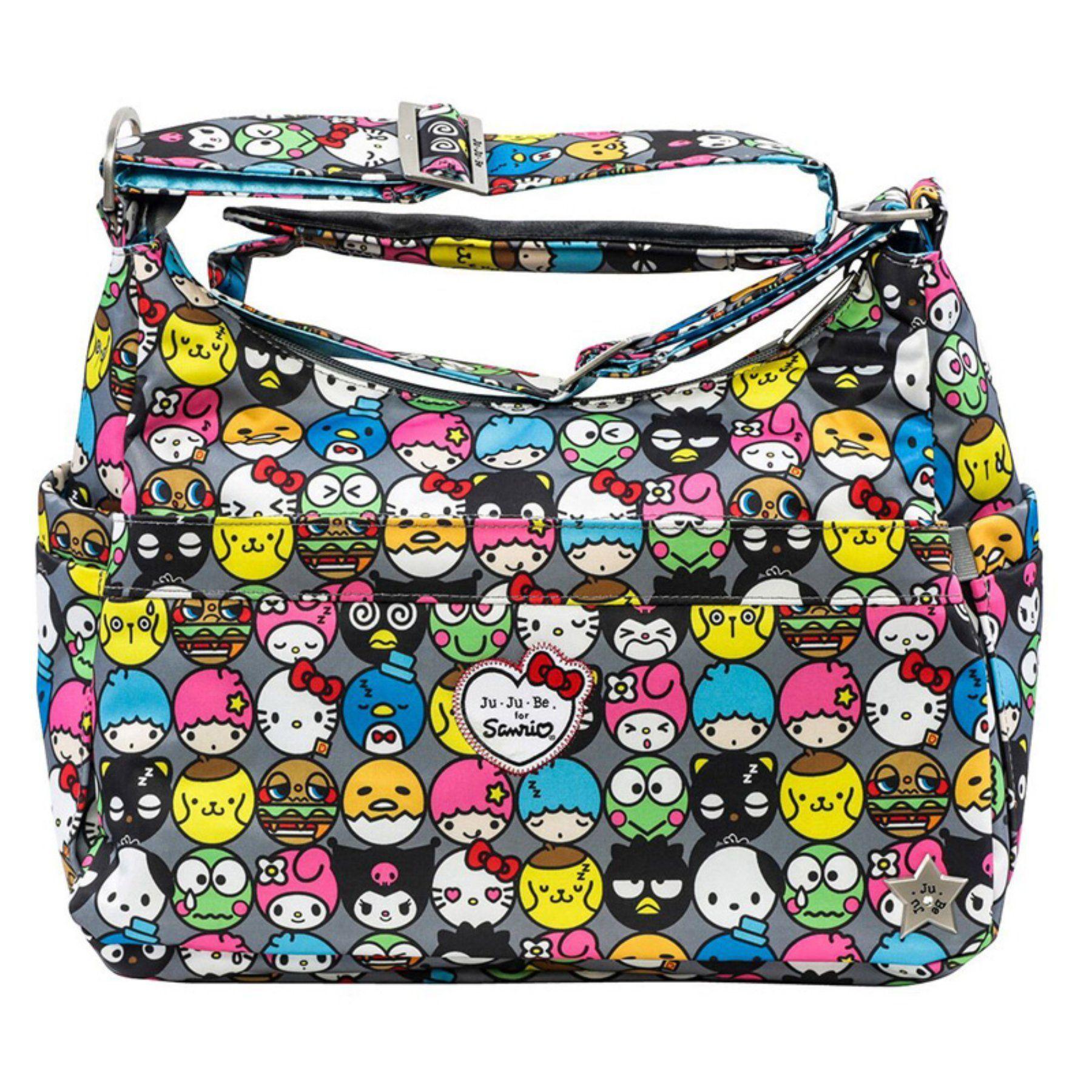 Ju Be O Kitty Friends Hobo Purse Diaper Bag 14hb01hk Hfr