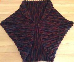 Warme Wollweste Aus Rechteck Gehäkelt Crochet Pinterest
