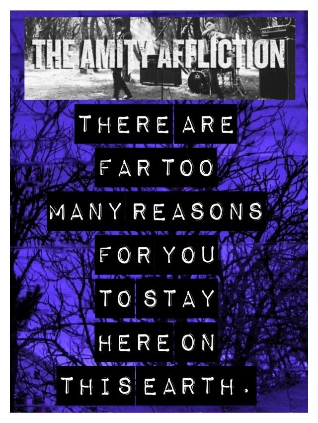 Lyric lean on me with lyrics : Don't Lean on Me // The Amity Affliction