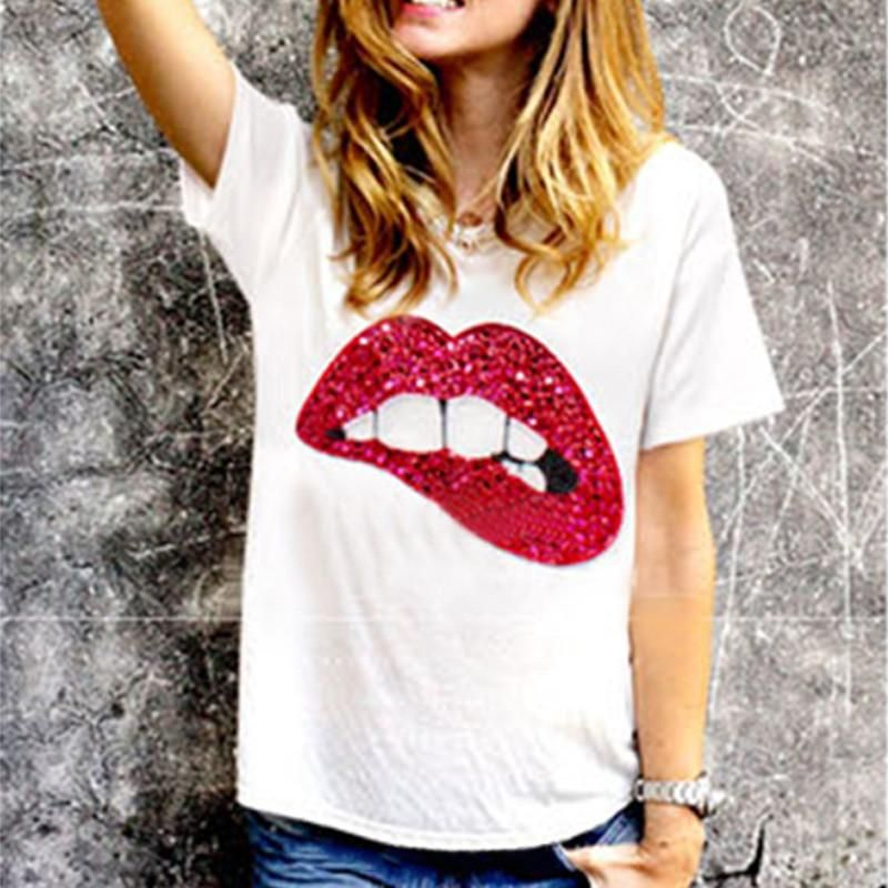 Swirl And Twirl Through Your Day With The Bite Your Lip T Shirt