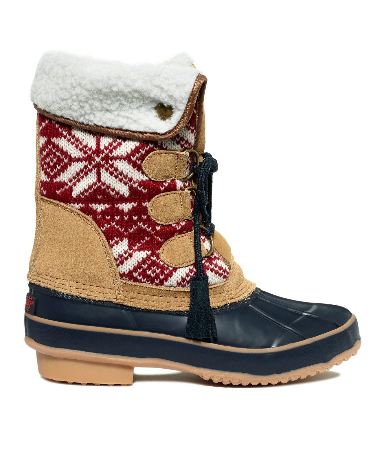 Khombu Shoes, Aztec Faux-Fur Boots