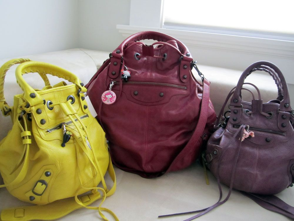 a201d6554ac The Balenciaga Pompon - need   Pure Bag Badassery   Balenciaga ...