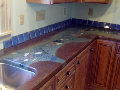 Diy Concrete Countertops Kits In Santa Fe New Mexico