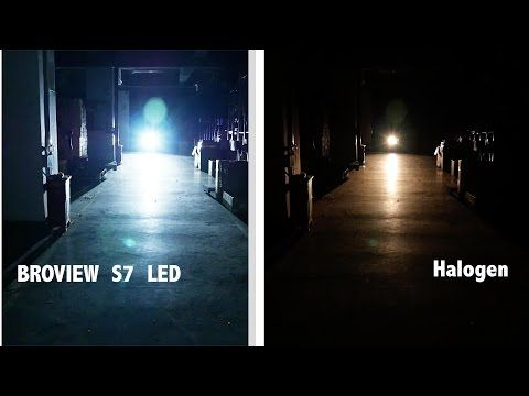 8000 lumen philips led headlights kit vs halogen review broview s7 youtube auto parts. Black Bedroom Furniture Sets. Home Design Ideas