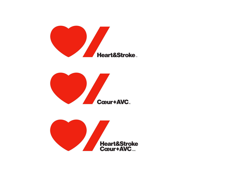 Heart & Stroke Foundation Identity Redesign Health