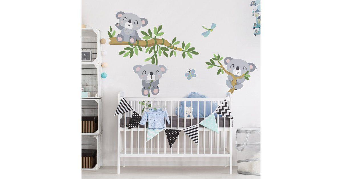 Wandtattoo »Kinderzimmer Koala Set«