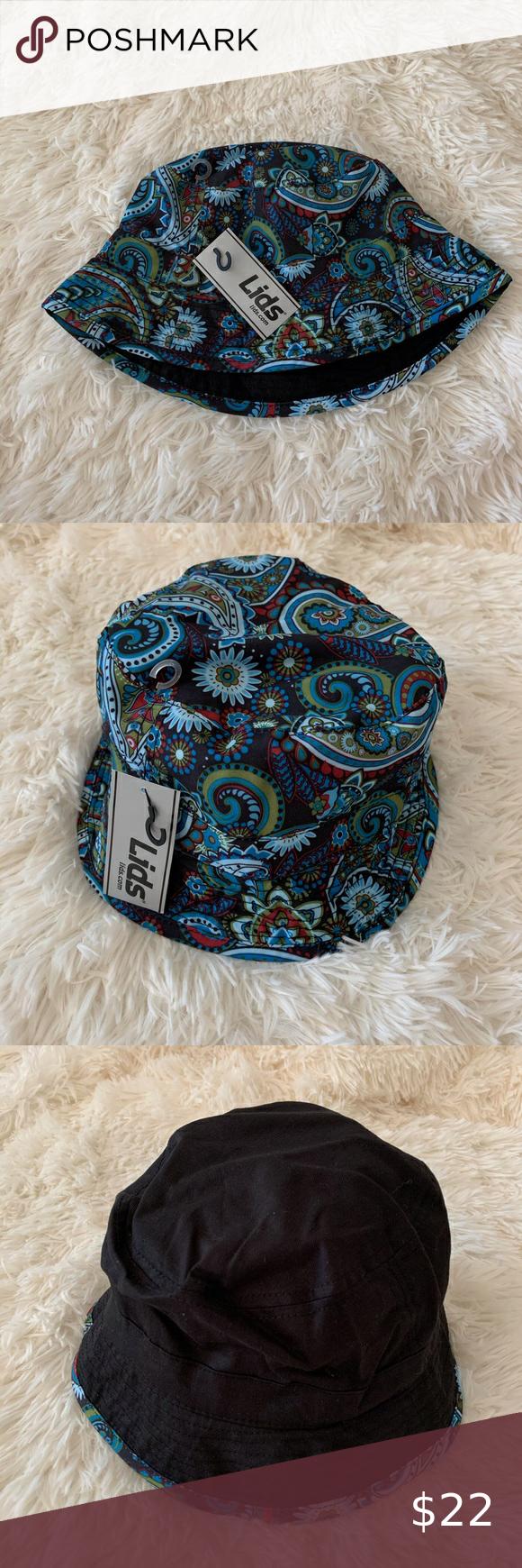 Lids Reversible Bucket Hat Women Accessories Hats Black Bucket Hat Bucket Hat