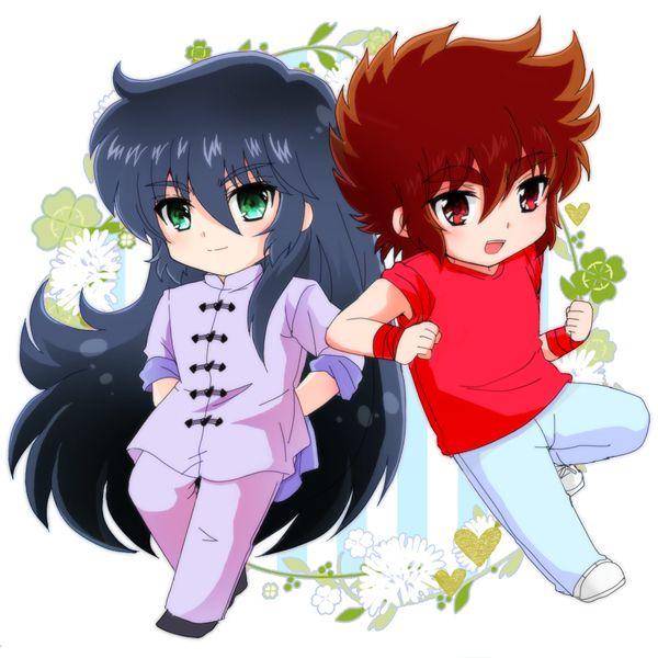 ★ Shiryuu and Seiya ★