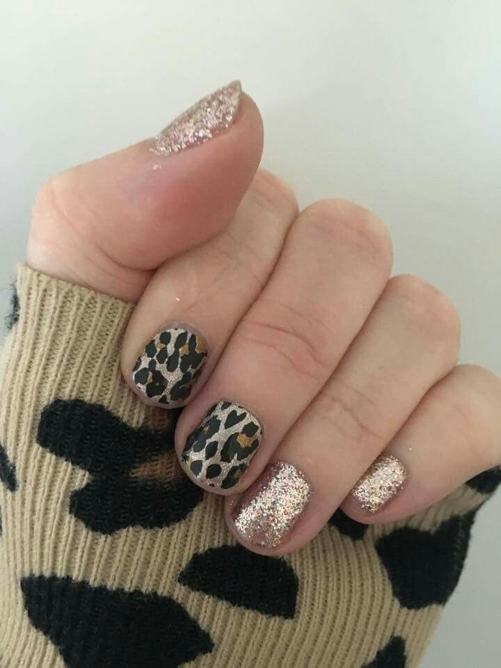Gilded Leopard and Party Dress TRUShine gel