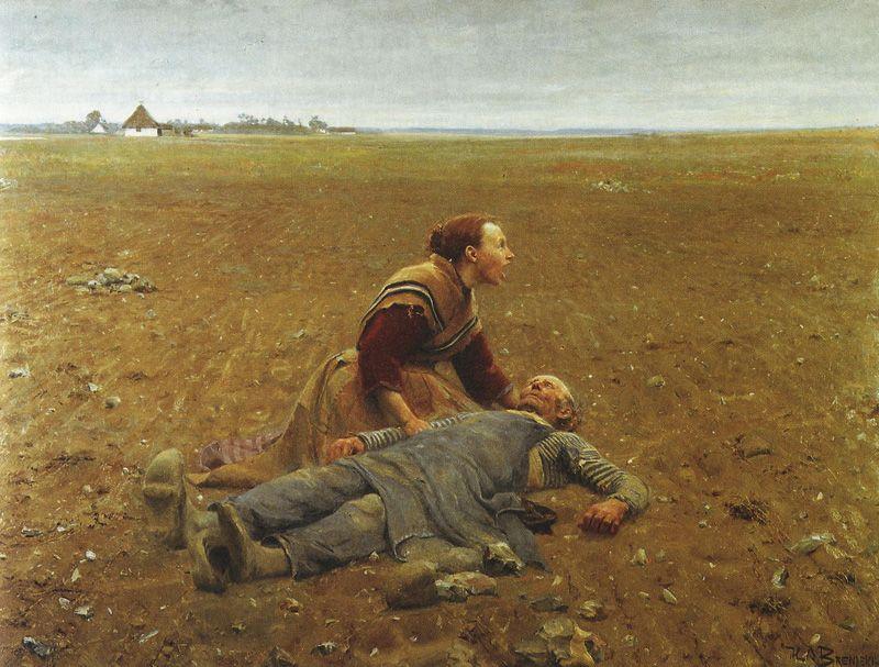 Udslidt By Hans Andersen Brendekilde Danish Painter Kunst Ideer Kunstnere Malerier