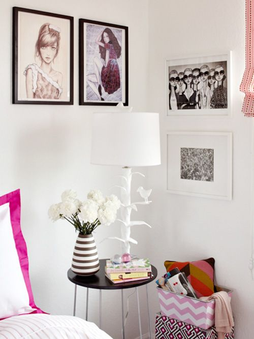 Teen Vogue Bedroom By Tori Mellott | The IWANTIT File | Girl bedroom ...