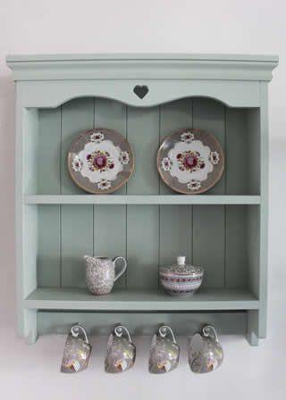 handmade shabby chic blue painted shelf unit shabby chic. Black Bedroom Furniture Sets. Home Design Ideas