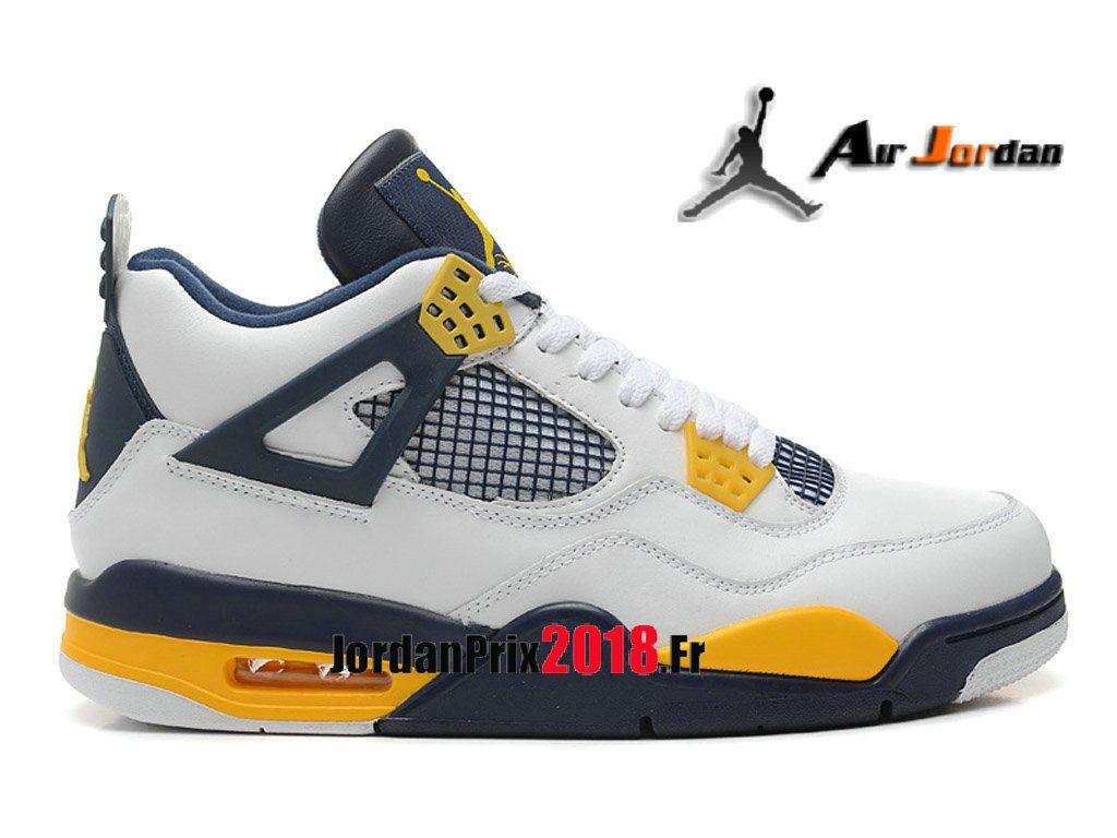 the latest a2732 53ca3 Chaussure Basket Jordan Prix Pour Homme Air Jordan 4 Retro marquette  h012mnjdls247