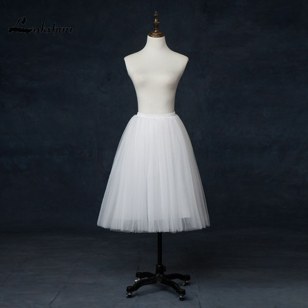 Real Sample A-line Blue Petticoat for Wedding Dresses Tulle Short ...