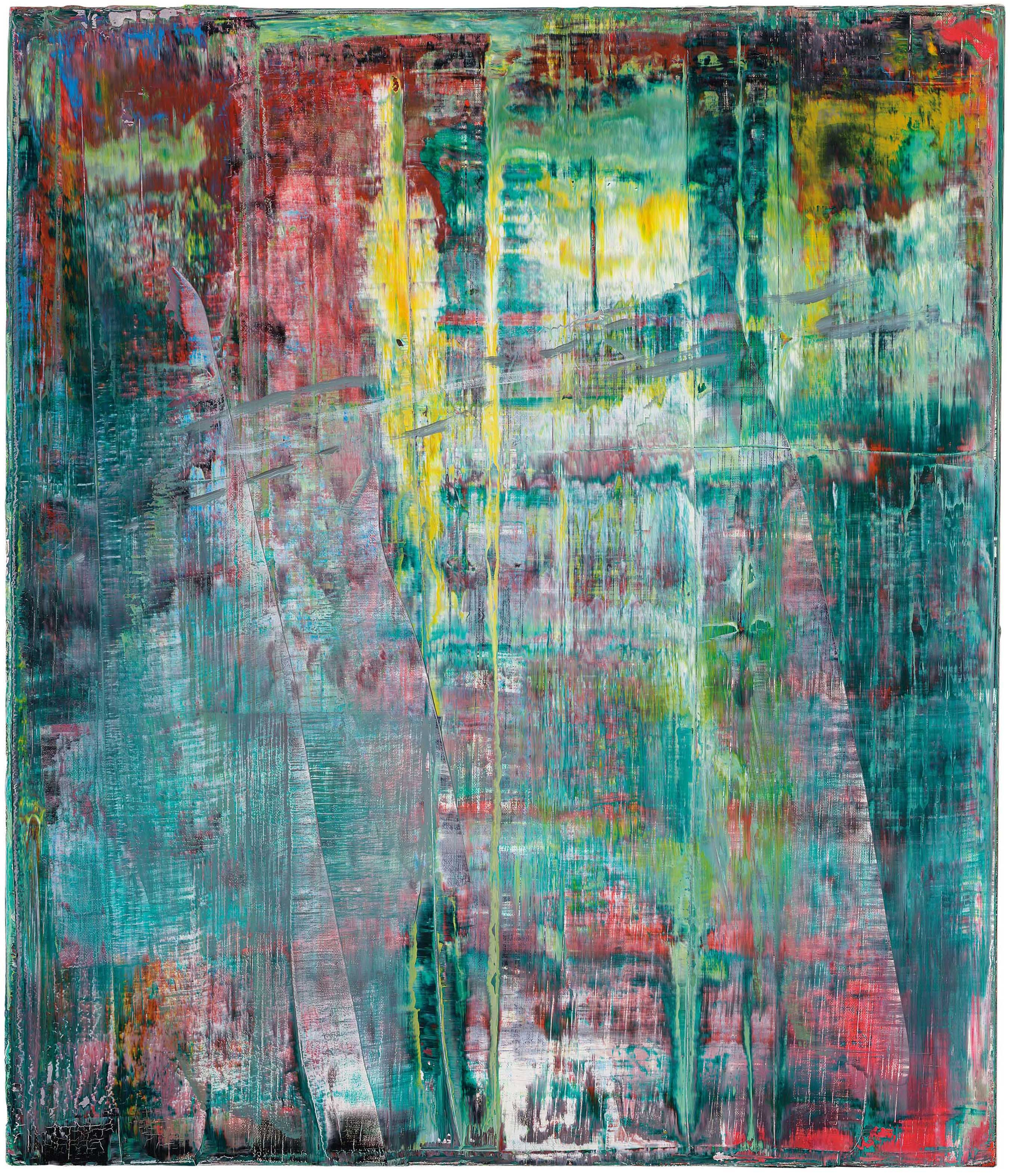 Gerhard Richter Germany B 1932 Abstraktes Bild 1990s Paintings Christie S Gerhard Richter Art Gerhard Richter Painting