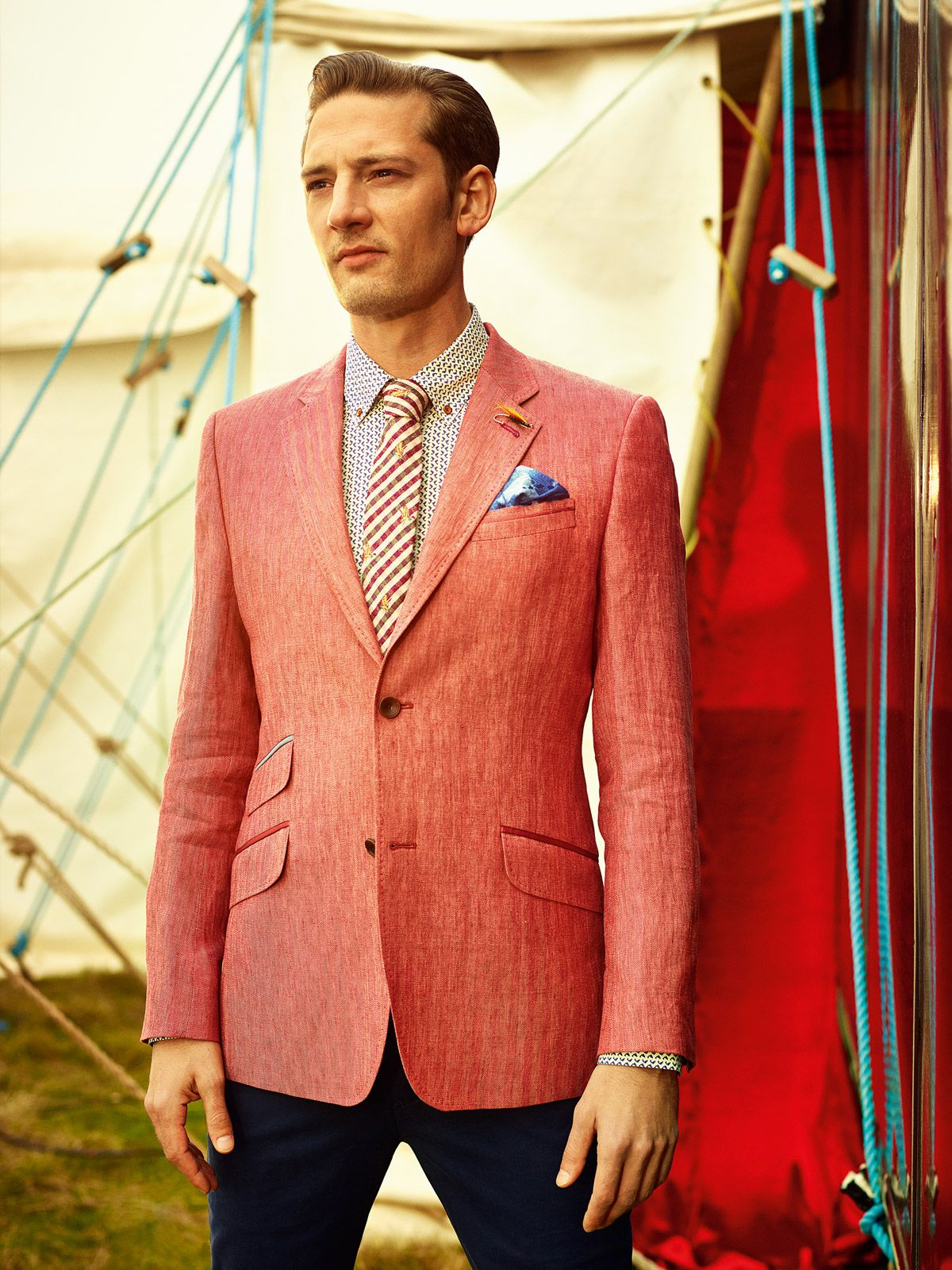 Ted Baker SS14 Lookbook Get in on the Act Men's