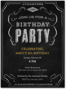 Digital Kids Birthday Invitations From Evite Postmark