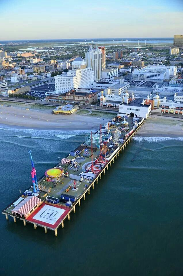 Atlantic City New Jersey Atlantic City Boardwalk Atlantic City City