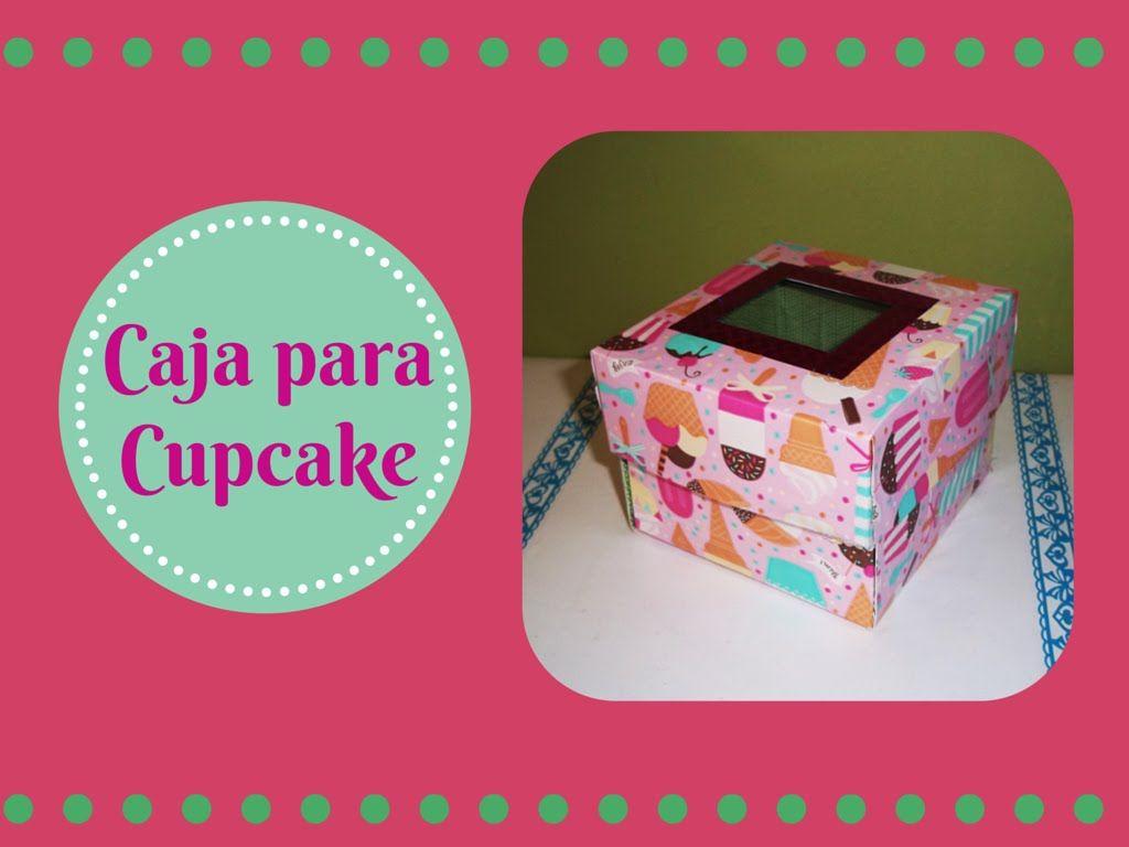 Caja para Cupcake | cajas para ponques | Pinterest | Box