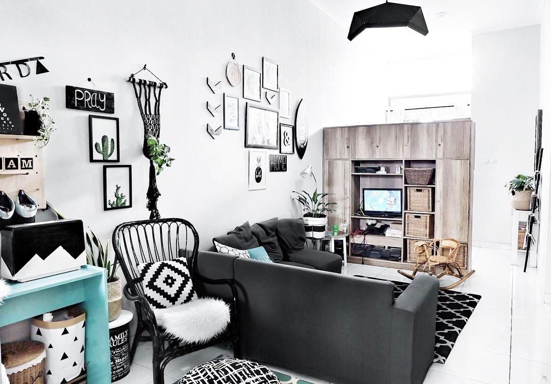 Desain Rumah Minimalis Tema Monokrom Why Not Interior Monokrom Interior Klasik Desain Interior