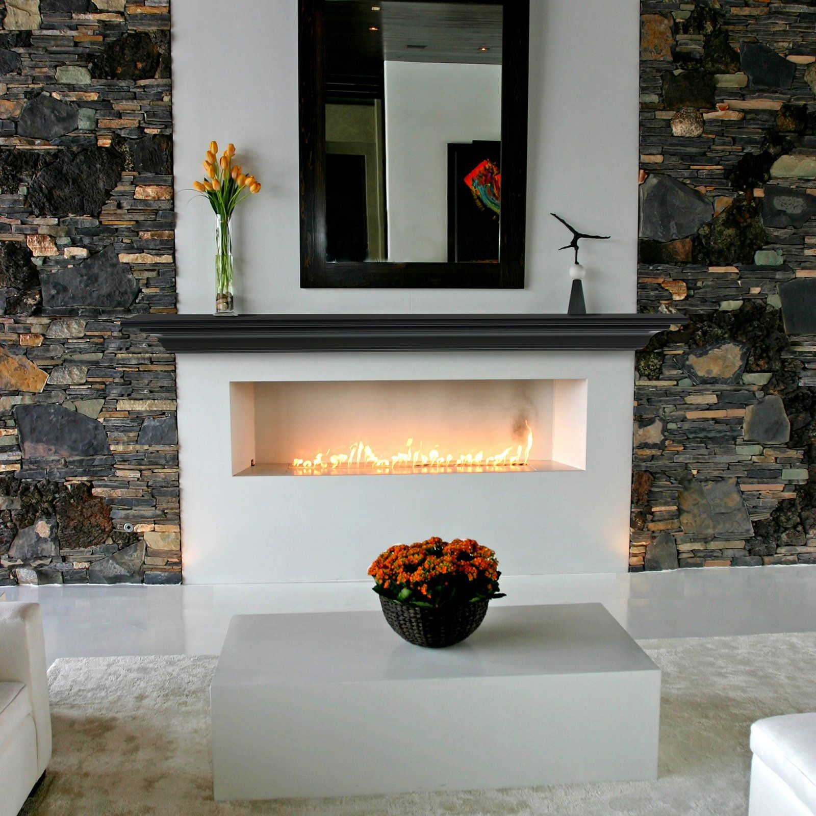 Pearl Mantels Crestwood Transitional Fireplace Mantel Shelf - $109.98  @hayneedle