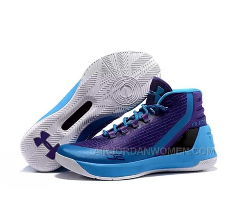561ae48740ac High Quality Free Shipping Under Armour Stephen Curry 3 Shoes Purple White