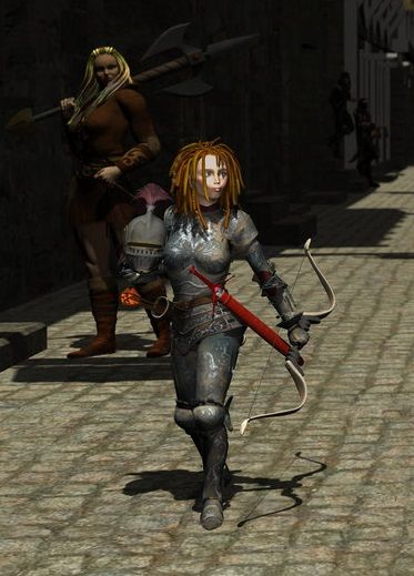 Mazzy Fentan 4 Foot Tall Halfling Paladin In Baldur S Gate 2 Art