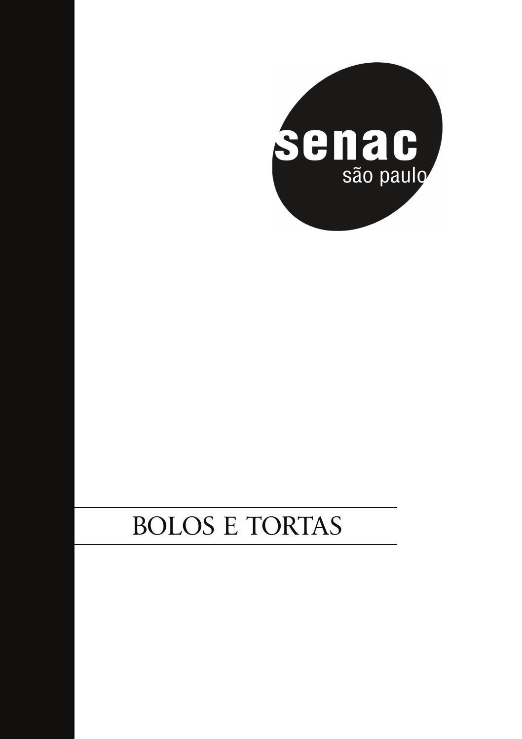 Apostila Bolos e Tortas (SENAC São Paulo) in 2020