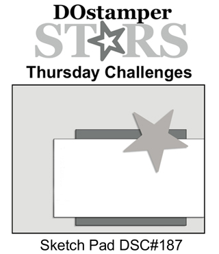 DOstamperSTARS Thursday Challenge #187-Sketch Pad