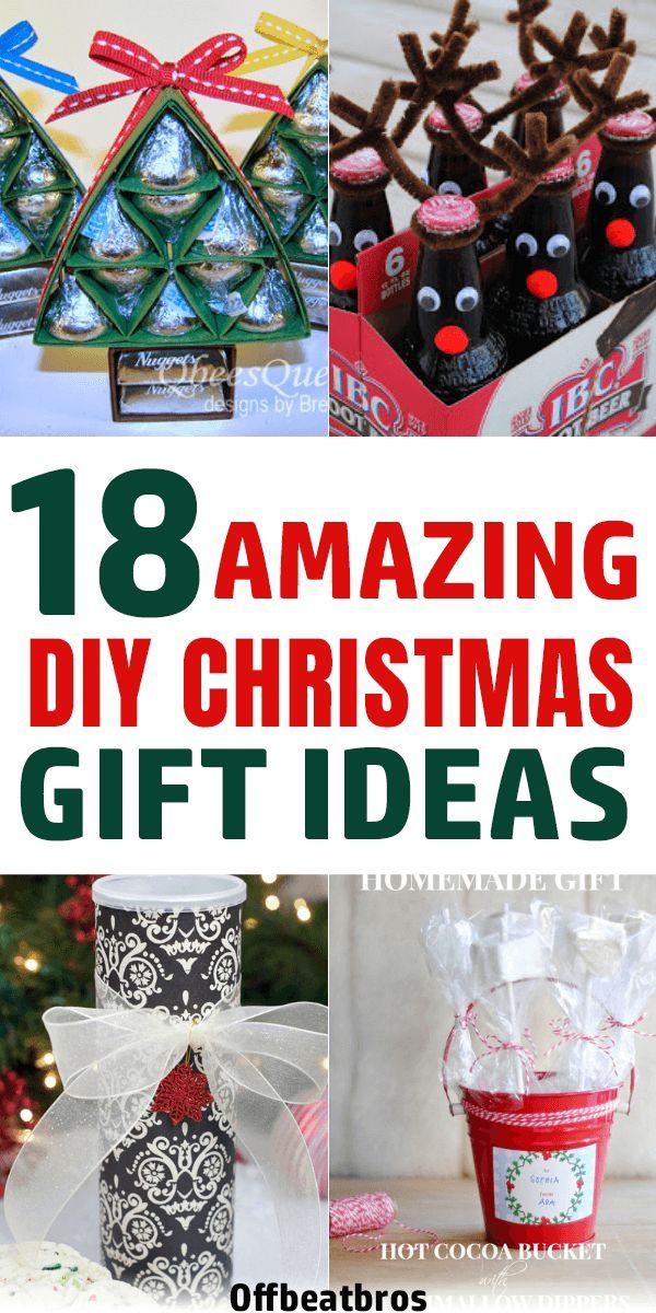 18 Best DIY Christmas Gifts Your Friends Will Love