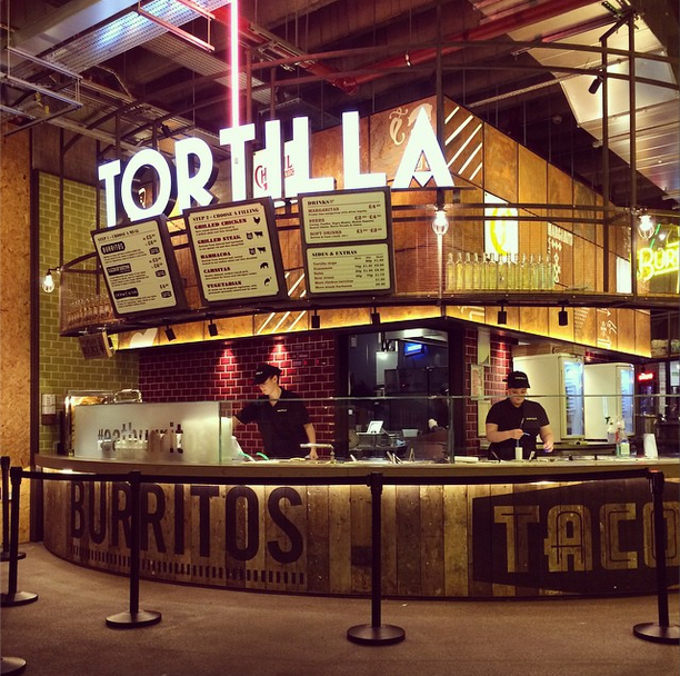 Kitchen Furniture Leeds: Tortilla In Trinity Kitchen Leeds. Easy Mexican Food In