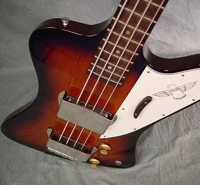1964 gibson thunderbird ii electric bass guitar something in the way you. Black Bedroom Furniture Sets. Home Design Ideas