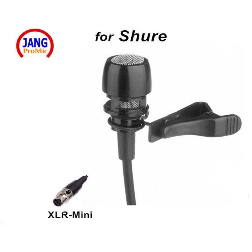 Microfono Condensador De Solapa Con Cable Profesional Host Show Microfone Para Shure Transmisor Ina