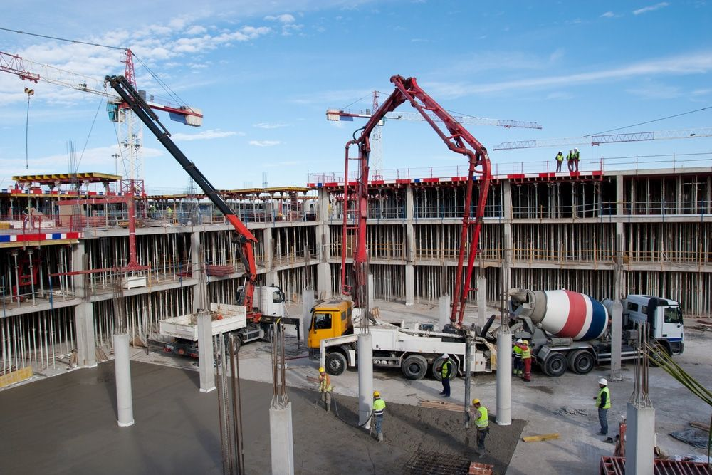 Modern Methods Of Construction Construction Site Construction