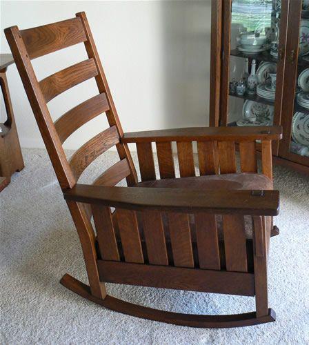 Fantastic Ca 1906 Ljg Stickley 461 Rocker Functional Elegance Creativecarmelina Interior Chair Design Creativecarmelinacom