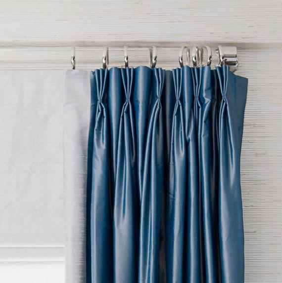 1 37 Dia 97 160 Lucite Custom Curtain Rod W 5 Brackets